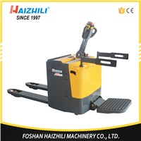 Power Battery Operated Material handling tools factory economical full electric pallet jack