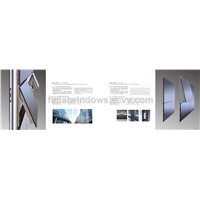 European standard aluminum frame glass curtain wall
