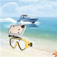 Extreme Sports Waterproof Case With 170 Degrees Wide Angle Lens For iPhone