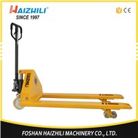 Premium quality 5 ton 5000kg Carrier truck Casting Pump Hydraulic Cylinder Hand Pallet Truck