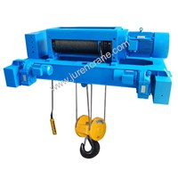 double rails wire rope electric hoist