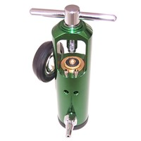 medical use oxygen cylinder with regulator