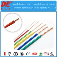 PVC insulated in home and construction copper wire