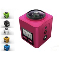 4K Mini Wireless Sport Waterproof Action DV Camcorder 360 Degree Camera