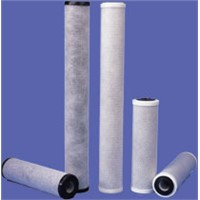 CTO activated carbon filter cartridges of all different sizes