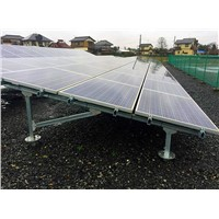 GM005-Ground Screw Pile solar Mounting System