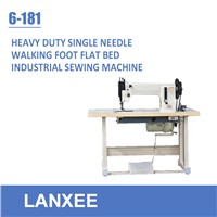 Lanxee 6-181 heavy duty industrial lockstitch sewing machine