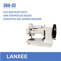 Lanxee 366-32 single needle lockstitch zigzag sewing machine