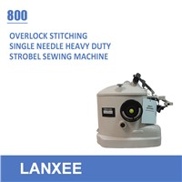 Lanxee 800 overlock heavy duty strobel sewing machine