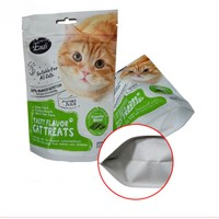 Pet Food Safe Packaging Pouch / Custom Printing Plastic Standing up Pouch for Dog Food