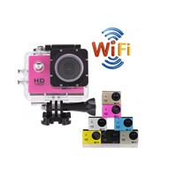 SJ4000 WIFI Action Camera Diving 30M Waterproof Camera 12MP 1080P Full HD Underwater Sport Camera
