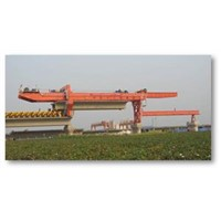 Launching Gantry 900t Used for Railway & Road Bridge Construction, Designed & Manufactured by Tolian