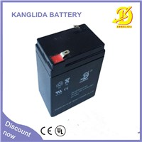 kanglida  emergency  light   6v  5ah  storage battery