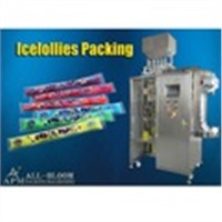 multi-lane different favor ice pop filling and packaging machine