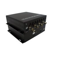 4ch 3G-SDI digital video/audio fiber transmission to fiber optic converter for broadcast