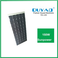 150W sunpower flexible solar panel for car use