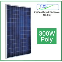 High efficiency 300W poly solar panel for home power system