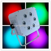 6x18w Rgabwuv 6in1 Battery Wireless LED Stage Lighting