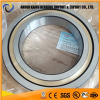 B7007EP4UL Chrome steel angular contact ball bearing for machine tool B7007-E-P4-UL