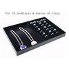Biservice Necklace and Finger Rings Promotional Tray