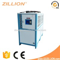 Zillion industrial air-cooled water chiller for injection machine 10HP