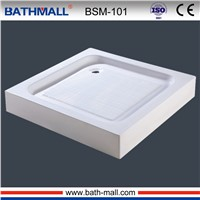 Cheap low acrylic shower tray with anti-slip