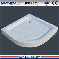 Hot sale acrylic shower tray with corner installation