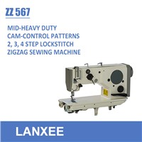 Lanxee ZZ 567 Series Compound Feed Heavy Duty Zigzag Sewing Machine