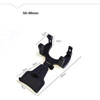 Car Rearview Mirror Mount Holder Stand Cradle For Cell Phone GPS mobile phone smart phone PDA MP3