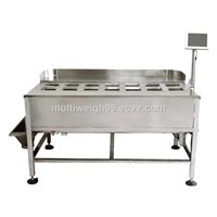 14 head multihead manual weigher,multihead combination weigher