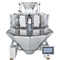high precision multihead weigher,combination scale for frozen food