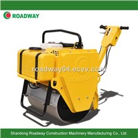 walk behind mini single drum vibratory roller/ roller compactor