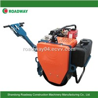 Walk-behind single drum mini road roller, roller compactor