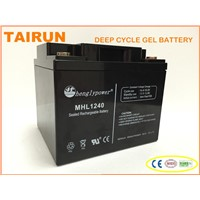 long life lead acid Sealed battery 12v55ah with Certificate