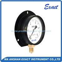 "2.5"" Bottom Dry Pressure Gauge with Back Flange"