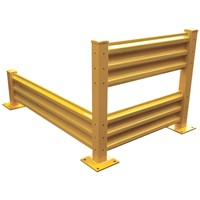 Barrier rail/Dock Guard Rails/crash guard-- safety rails
