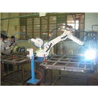 CNC System Industrial Automatic Ringlock Ledger Welding Machine