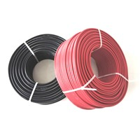 TUV XLPE insulation solar pv cable 4mm2 for solar panel