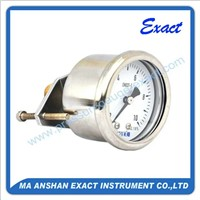 Widely Used Glycerin Filled Pressure Gauge with U-Clamp
