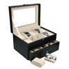 High Grade Leatherette Watch Collection Cases