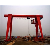 High Quality And Low Price Electric Hoist Single Girder Gantry Crane 10Ton