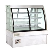 Hot Sales commercail Marble bakery CE approved supermarket refrigerated glass cake showcase CSD528