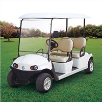 RD-4AC+D electric golf cart with AC system standard configuration