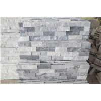 grey and white quartziute culture stone