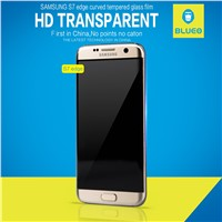 no AB glue 2016 New Arrival 3D curved For Samsung Galaxy s7 edge tempered glass screen protector