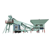Easily movable YHZS Cement Concrete Mixing Plant