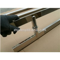 stainless steel glass door handle shower glass door handle