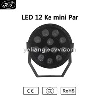sound activated mini 12pcs led par stage lighting party decoration disco lights