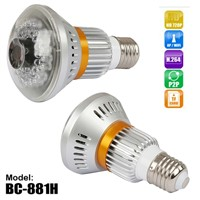 HD960P Wireless Bulb-shaped P2P IP  Camera with Invisible IR Light