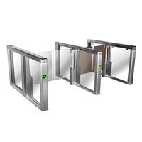 Stainless Steel Glass Door Speed Gate